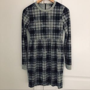 AQUA Bloomingdales Plaid Dress